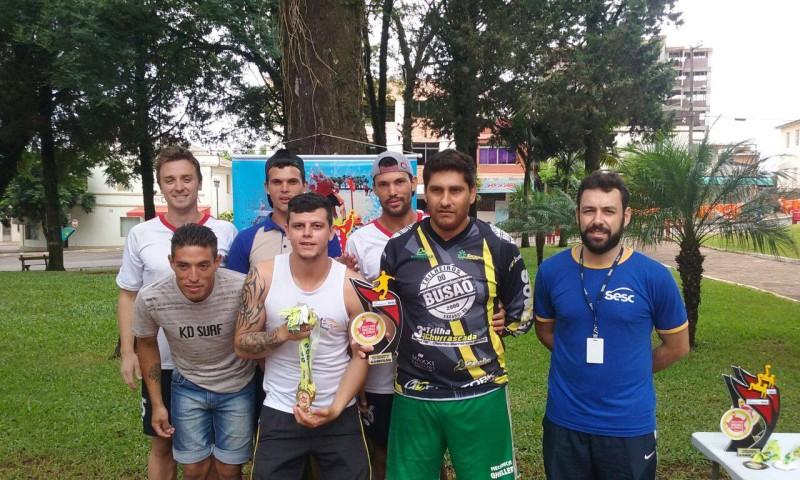 Campeão Masculinho Beach Soccer - Esporte Clube São Roque