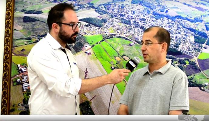 Entrevista do prefeito Gerri Sawaris ao Diário RS