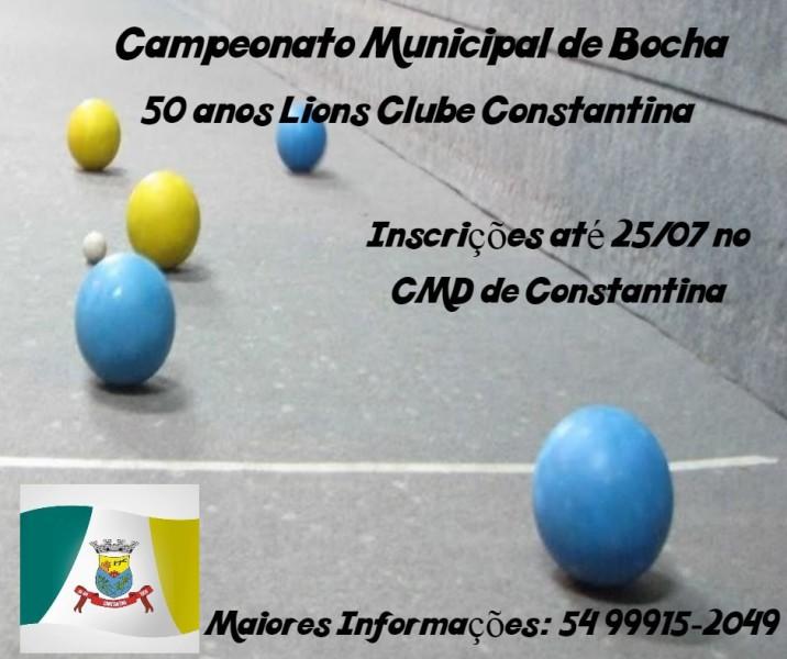 Campeonato Bocha (1)