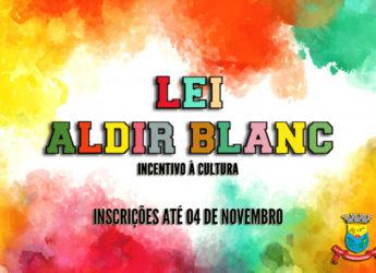Lei Aldir Blanc – Inscrições abertas para projetos e espaços culturais