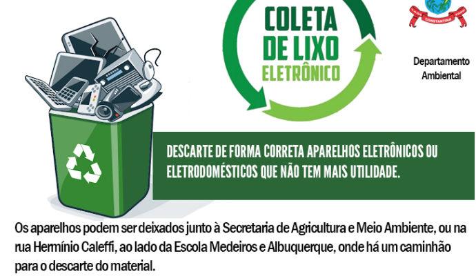 Recolhimento de lixo eletrônico