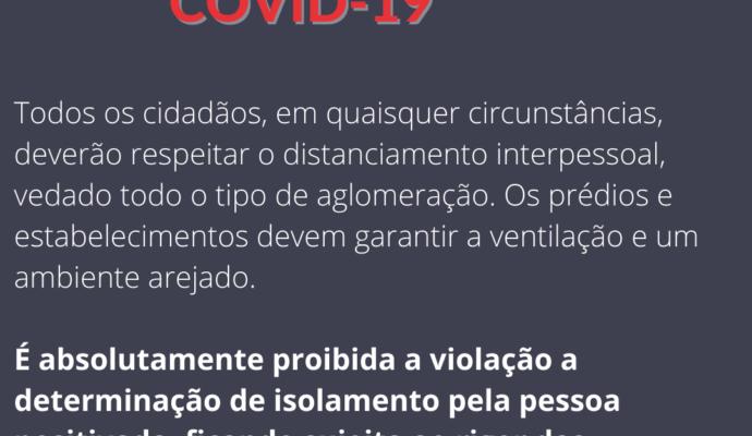Administração Municipal altera decreto de medidas de enfrentamento à COVID-19