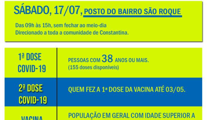 Dia D de Vacinação