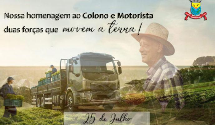 Dia do Colono e Motorista