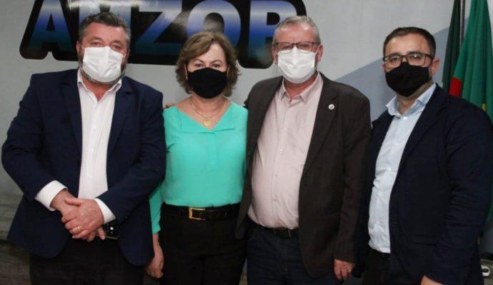 Município participa de mais uma assembleia da AMZOP