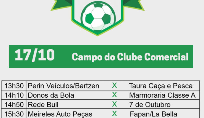 Campeonato de Futebol 7 inicia neste domingo